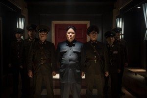 North Korea's Supreme Leader Kim Jong-un in Sony's 'The Interview'allegedly portrayed in a negative light.