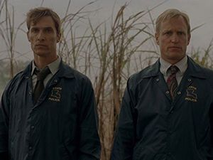 The first season of 'True Detective' was shot entirely on film.