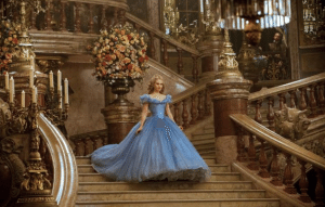 Lily James stars as the frilly-dress-wearing princess in 'Cinderella.' Pretty and all, but why wait for a man to come along before you go on an adventure?