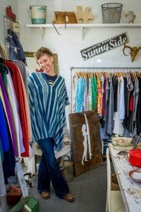 Co-owner and maker at The Shop, Liz Lavoie. Photo by Samir Neffati