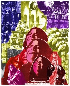 This piece of Janis Joplin will be included in The Art of Rock Legends exhibit on June 12.