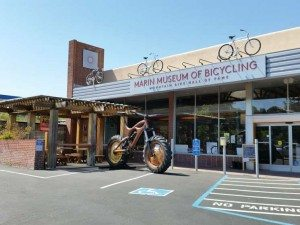 The Marin Museum of Bicycling, located in Fairfax. Photo by Angie McClure