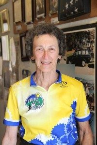 Marilyn Price, founder of Trips for Kids, began taking youth on bike rides in Marin in the '80s. Photo by Molly Oleson
