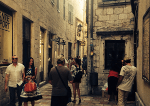 The streets of Kotor.