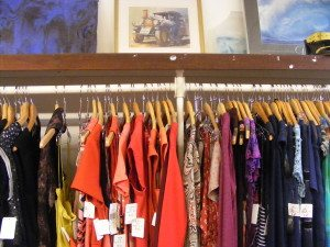 Mill Valley's Diamonds in the Rough carries contemporary designer clothes at delightfully discounted prices. Photo by Flora Tsapovsky