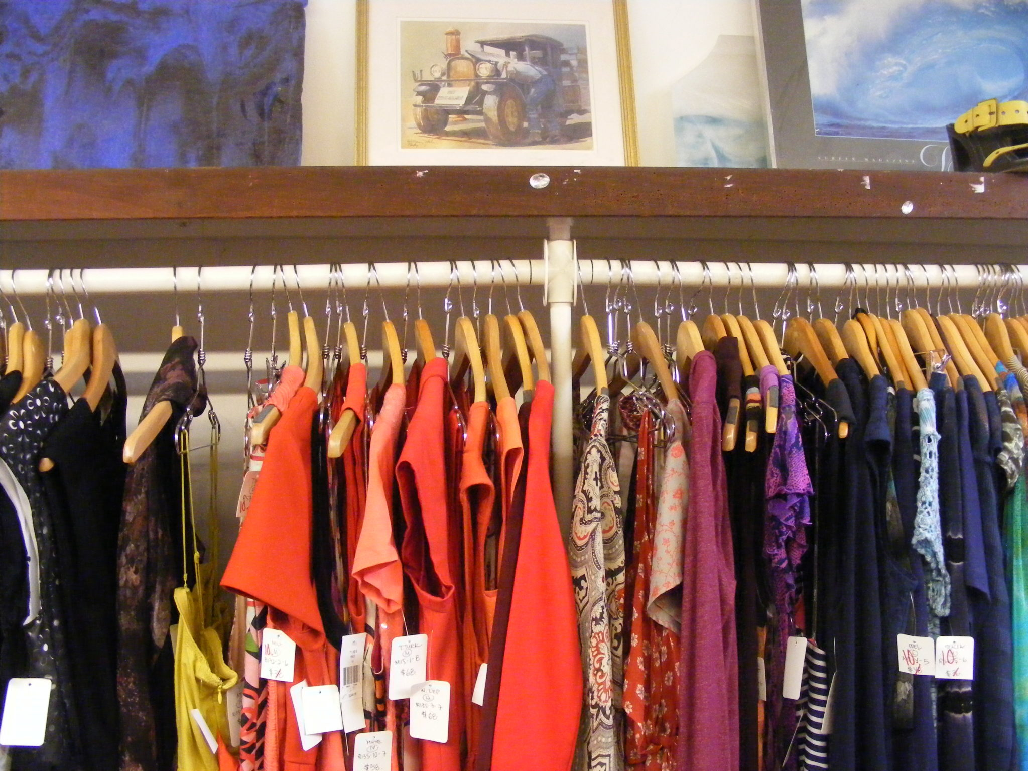 clothes at delightfully discounted prices photo by flora tsapovsky