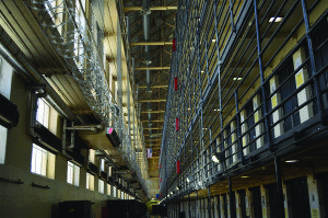 Mass incarceration comes to life on San Quentin's multi-tiered East Block, where 520 inmates spend their lives in cells waiting to die.