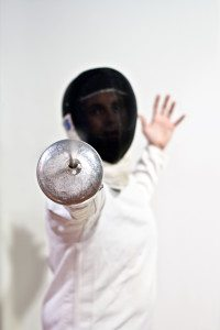 Take a stab at fencing at the Marin Fencing Academy. Photo courtesy of the Marin Fencing Academy.