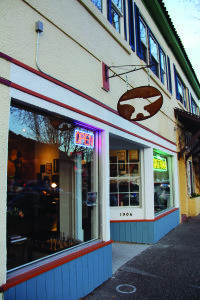 The Forge Tattoo: Open for business at 1906 Sir Francis Drake Boulevard in downtown Fairfax. Photo by Molly Oleson.