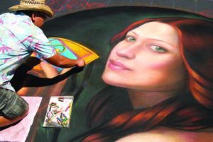 Beginning on June 25, more than 100 street painters will converge on downtown San Rafael for the Italian Street Painting Marin event. Photo by Bob Morris.
