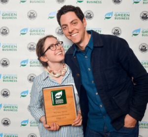 Karen Wiener and Brett Thurber, founders of The New Wheel, have brought the first dealership focused solely on electric bikes to Marin. Photo courtesy of The New Wheel.