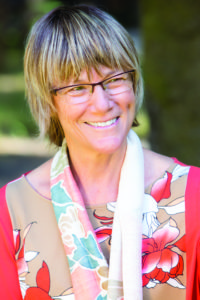 Sally Armstrong, one of Spirit Rock's founders, has seen the meditation center go through many changes over the years. Photo courtesy of Spirit Rock.