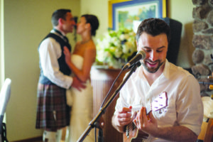 Bobby Jo Valentine, who travels nationally to perform at weddings, originally shied away from being a 'wedding singer.' Photo courtesy of Bobby Jo Valentine.