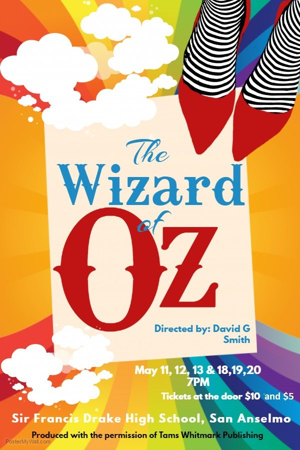 Copy Of Wizard Oz Theater Poster Template 1