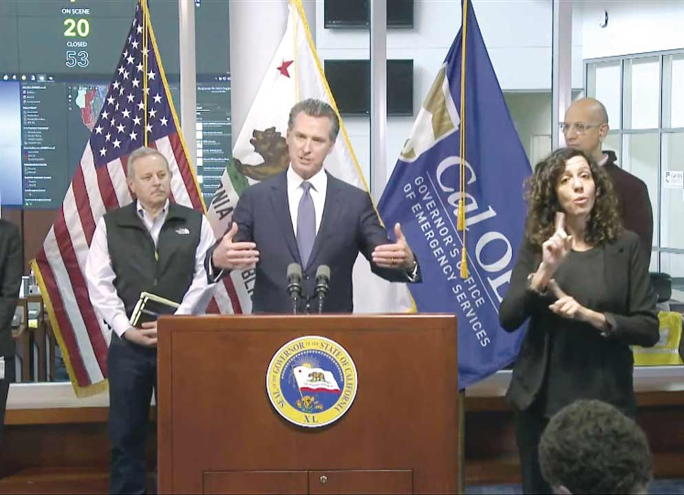 Newsom Press Conference March 2020