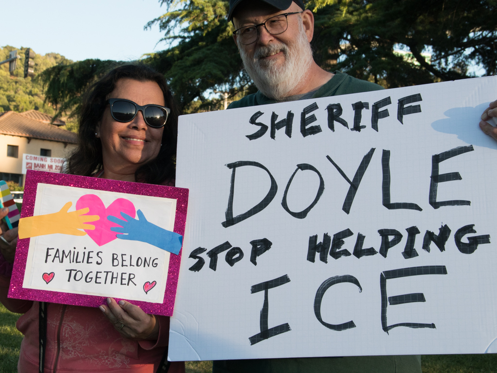 2018 Marin County ICE Families Protest