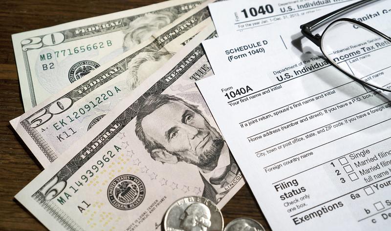 Taxes Money California