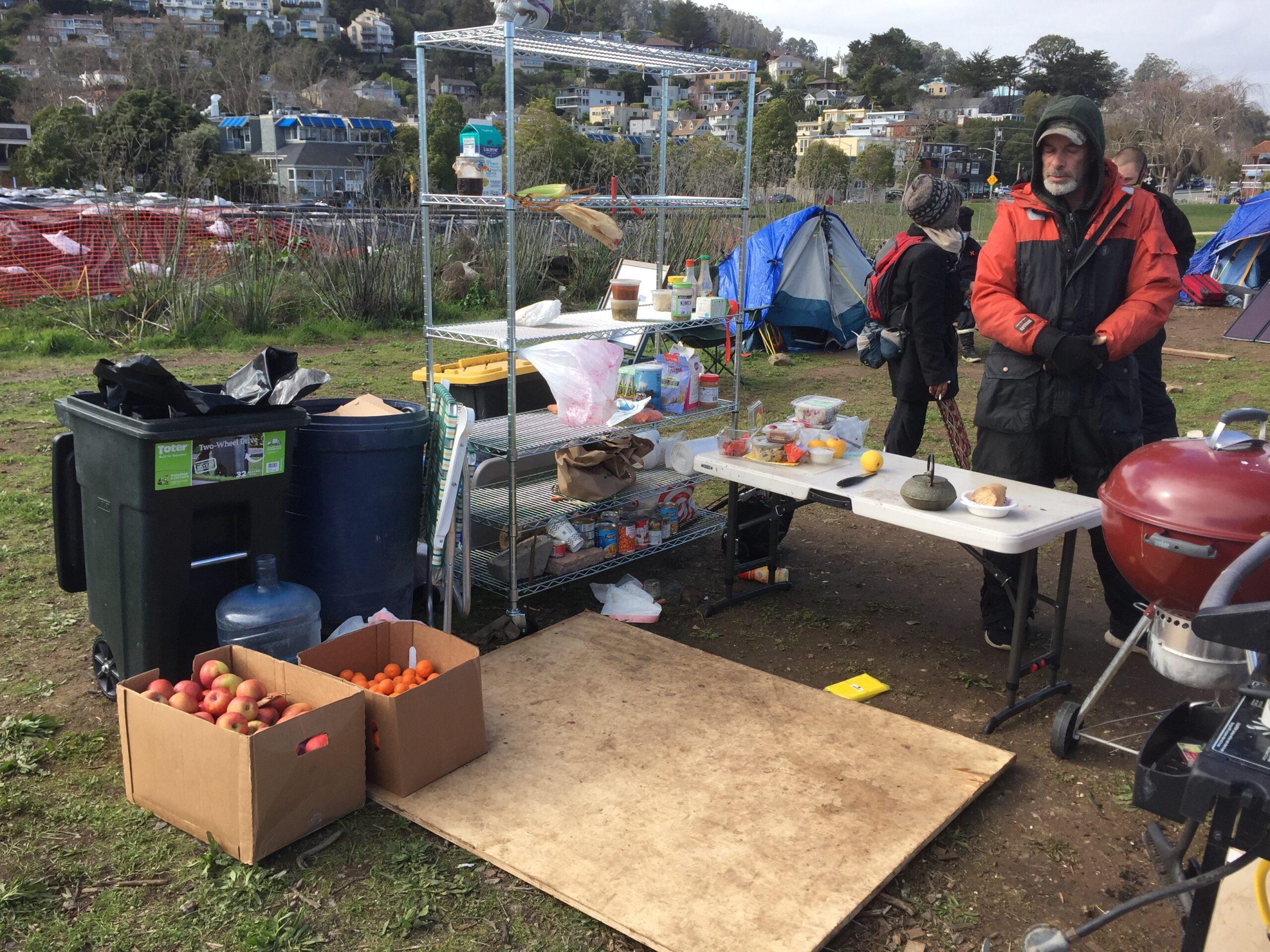 Sausolito California Encampment