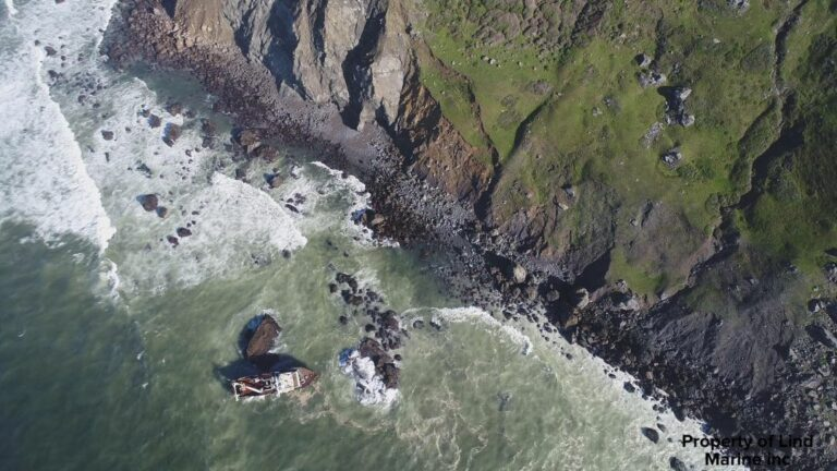 Response to Boat Grounded Near Dillon Beach Shifts to Long-term Monitoring