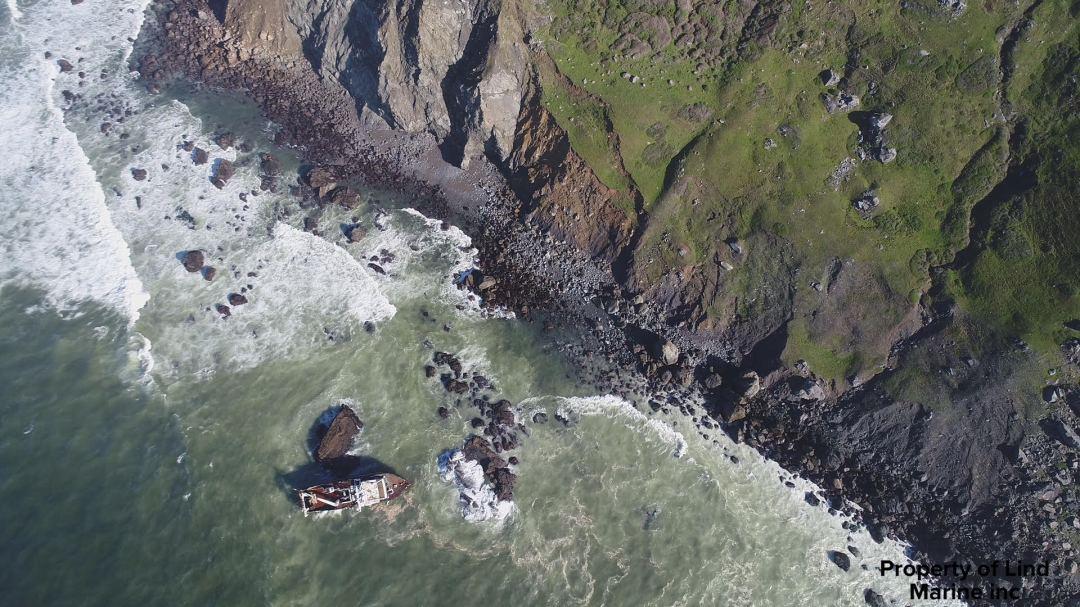 Dillon Beach grounded Marin County
