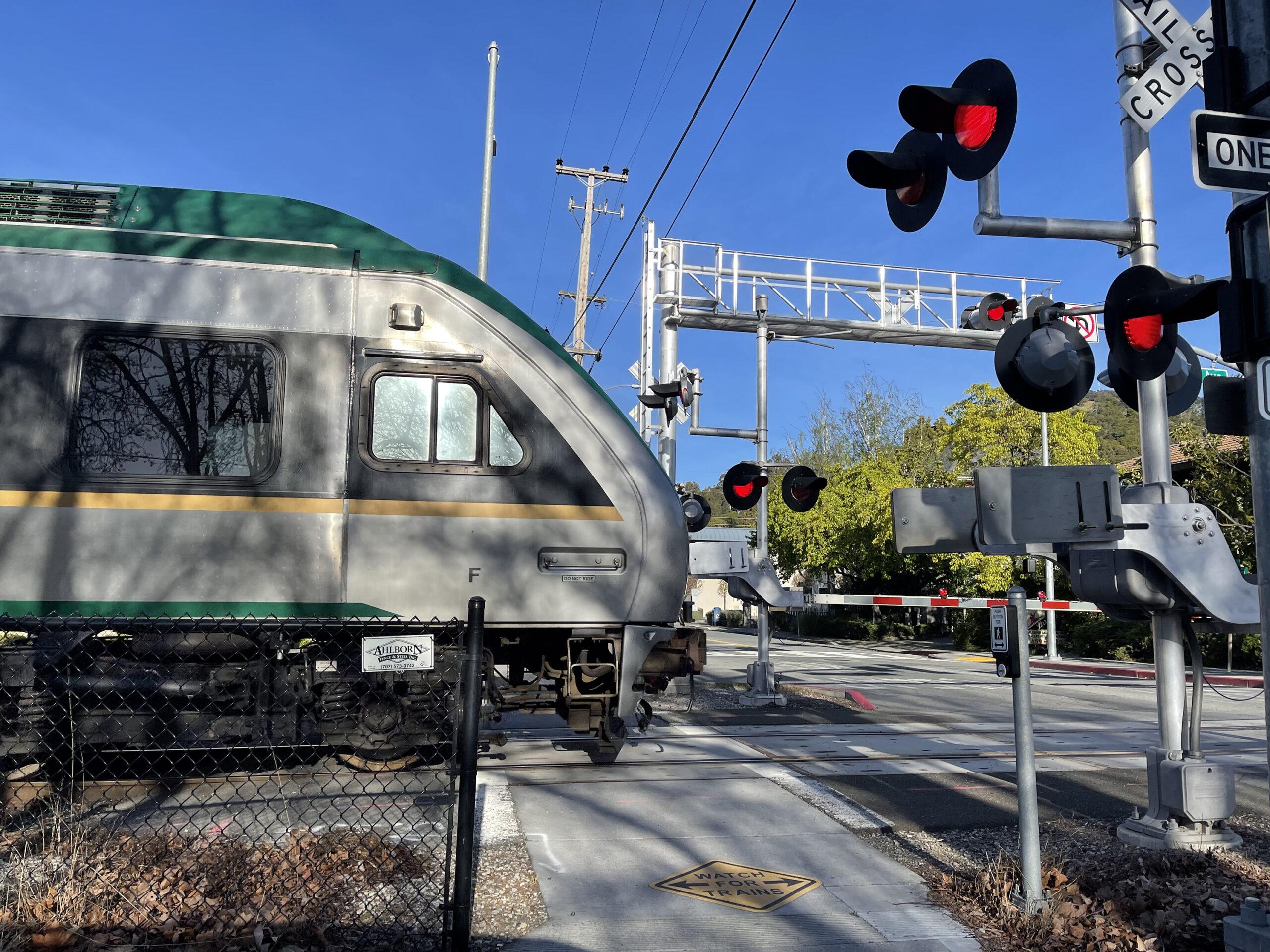 SMART Train San Rafael, California