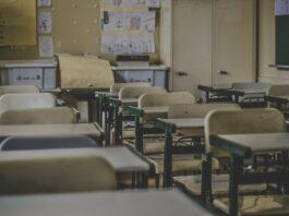 School desks Unsplash